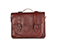 "15"" Leather satchel OXBLOOD AB004610"
