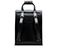 Small Leather Backpack BLACK AB020004