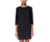 Women's Cross Pattern Dress BLACK+GREY AC447001