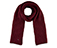 Knitted Scarf OXBLOOD AC463601