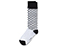 Polka Dot Sock WHITE+BLACK AC465101
