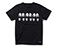 Sole Print T-Shirt BLACK AC532001